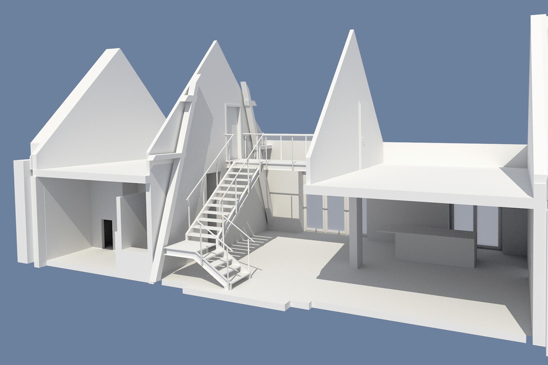 digitales Gebäudemodell